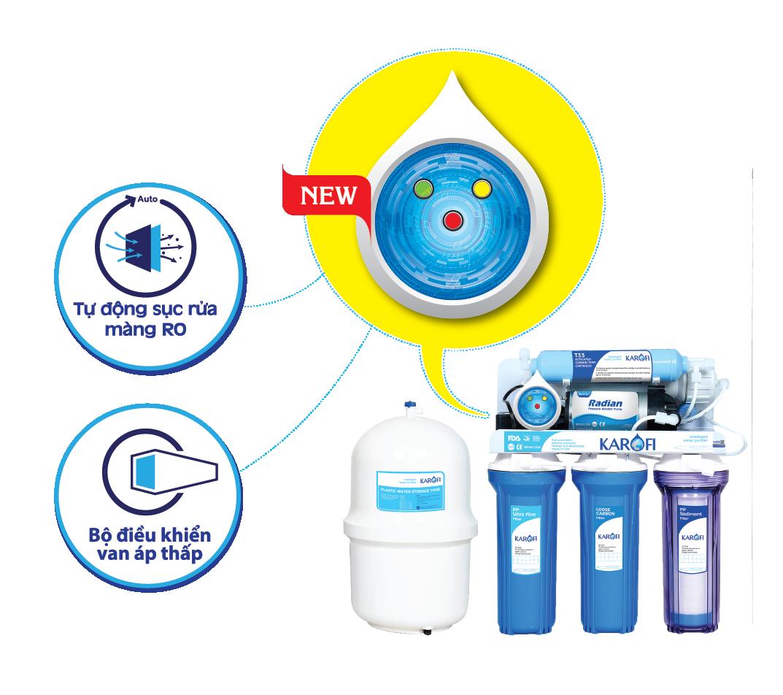 Kết quả hình ảnh cho máy lọc nước karofi IRO sro