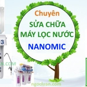 sua may loc nuoc nanomic