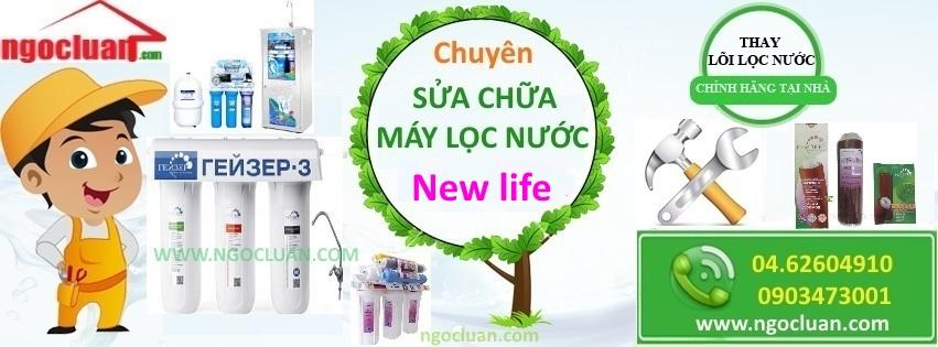 Sua may loc nuoc New life