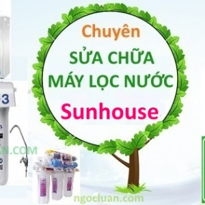 Sua may loc nuoc sunhouse
