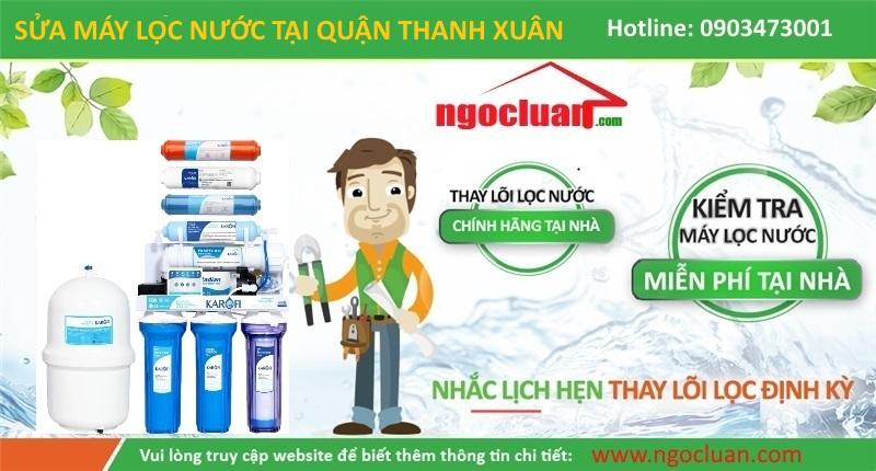 Sua may loc nuoc tai quan Thanh Xuan