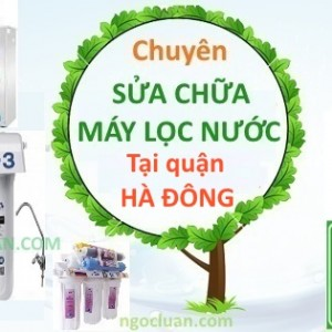 Thay loi loc nuoc tai Ha Dong