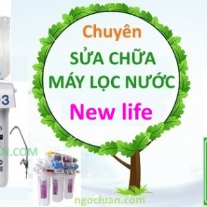 Sua may loc nuoc New life