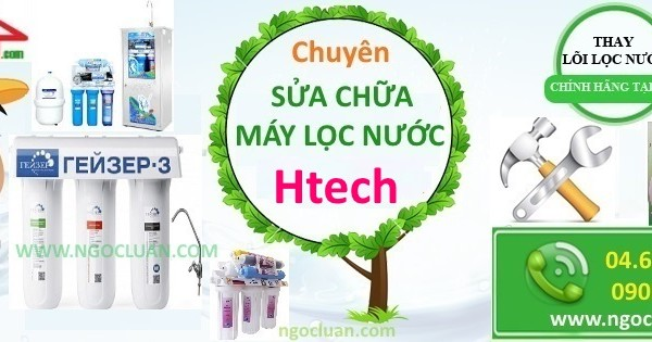 thay loi may loc nuoc htech