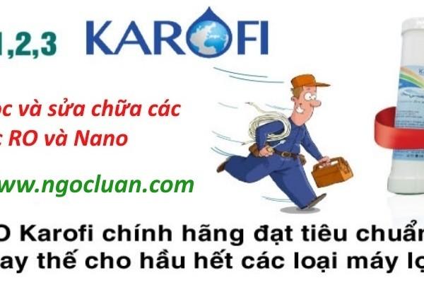thay loi may loc nuoc karofi