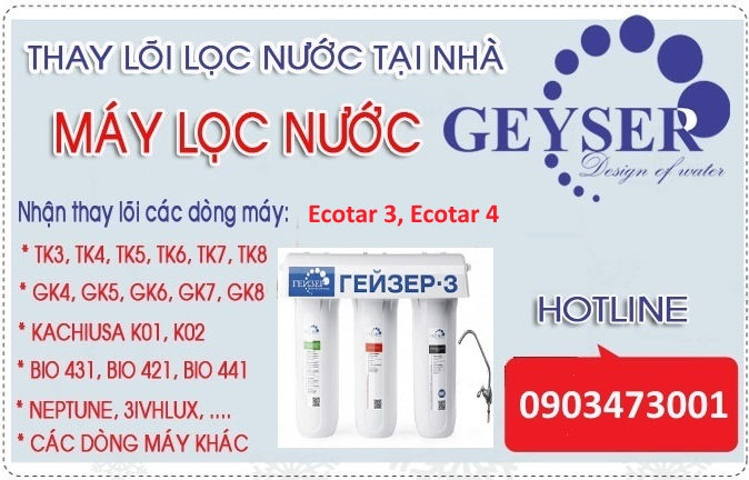 thay loi may loc nuoc nano geyser ecotar 3