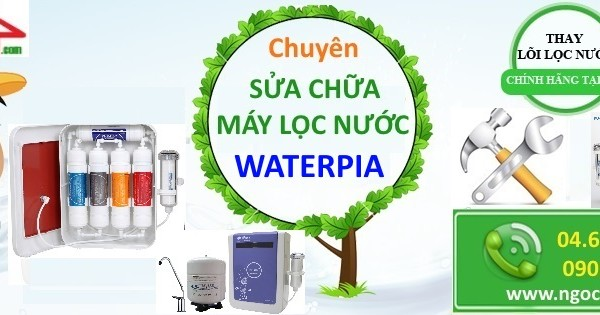 Thay loi may loc nuoc waterpia