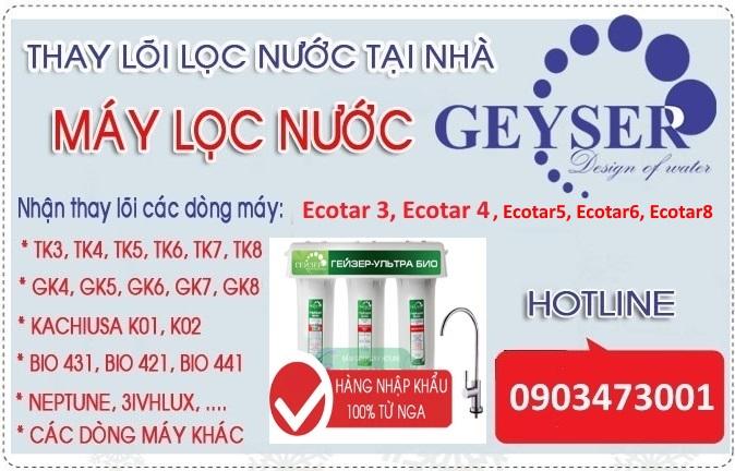thay loi may loc nuoc nano geyser ecotar