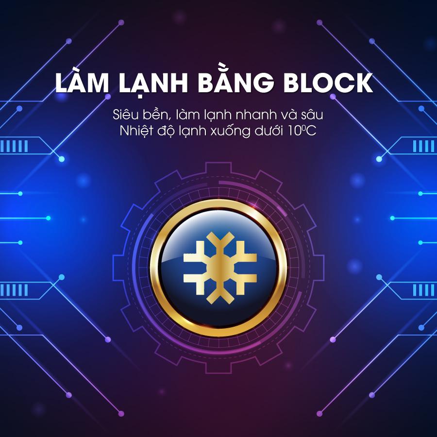 loc nuoc nong lanh nguoi mutosi lam lanh bang block