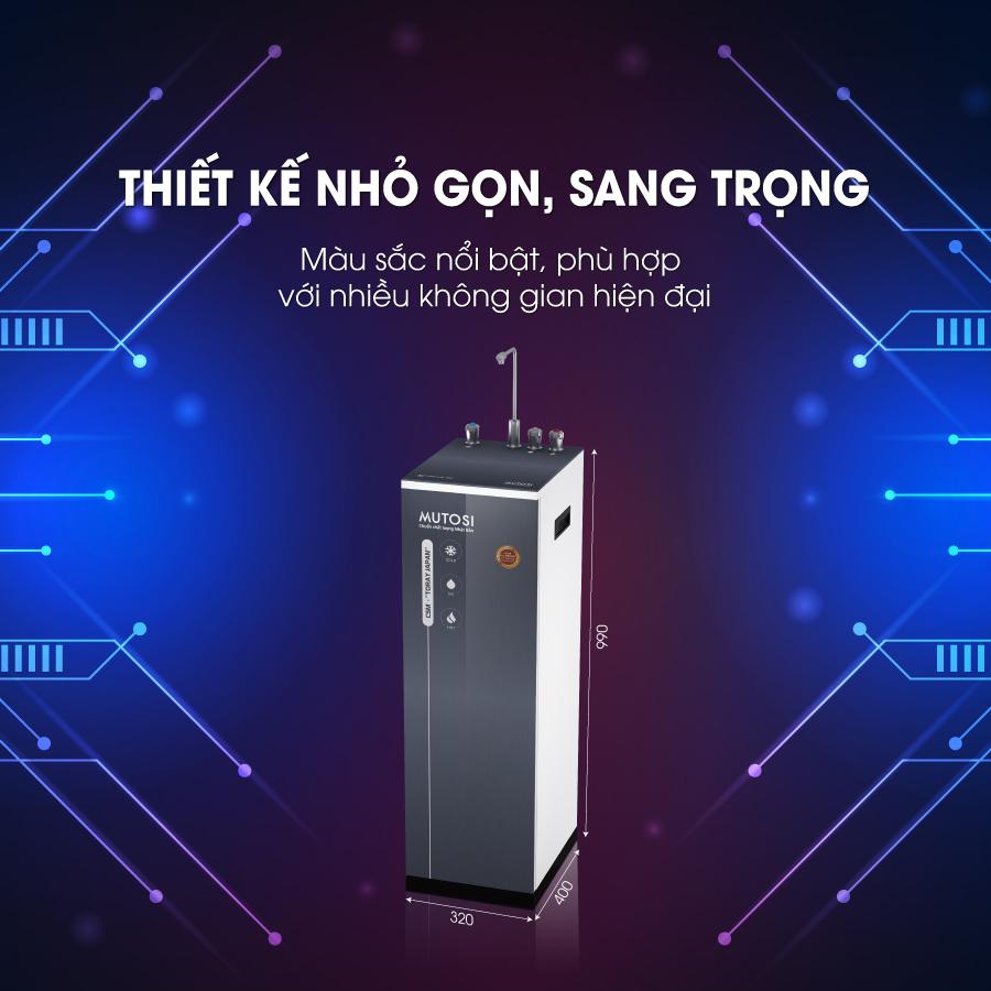 may loc nuoc mutosi mp-350D-GR nong lanh nguoi